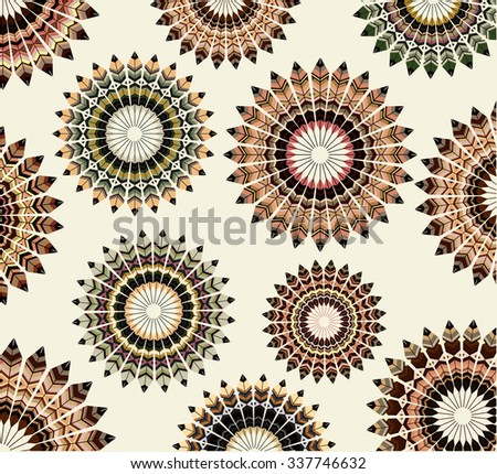Abstract design, retro design - stock vector
