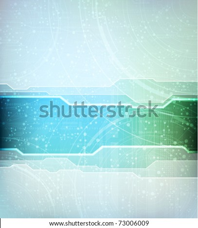 abstract design vector banner. Eps10 - stock vector