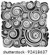 abstract design vector ornament - stock vector
