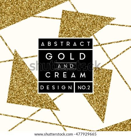 Abstract design gold glitter shapes on stock vector 477929665 abstract design gold glitter shapes on stock vector 477929665 shutterstock stopboris Choice Image