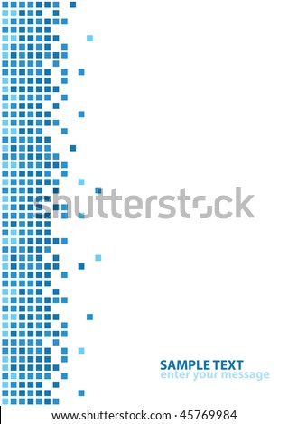 Abstract Design With Space For Your Text (vector). In the gallery also available XXL jpeg version of this image. - stock vector