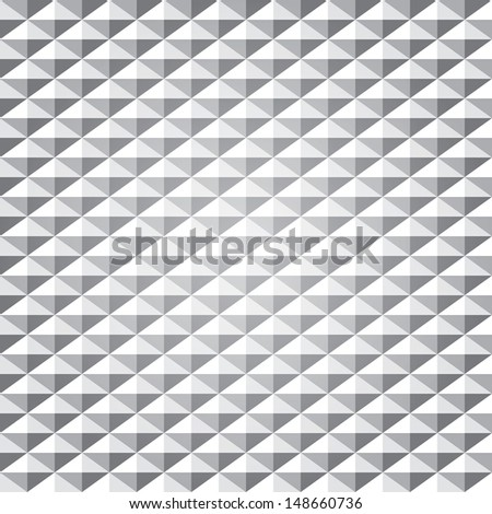 abstract diamond background of vector - stock vector