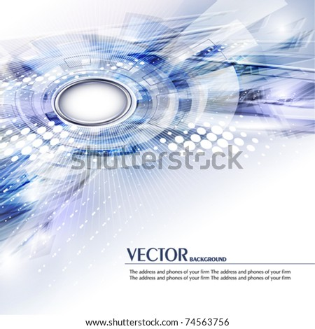 Abstract digital background. Vector - stock vector
