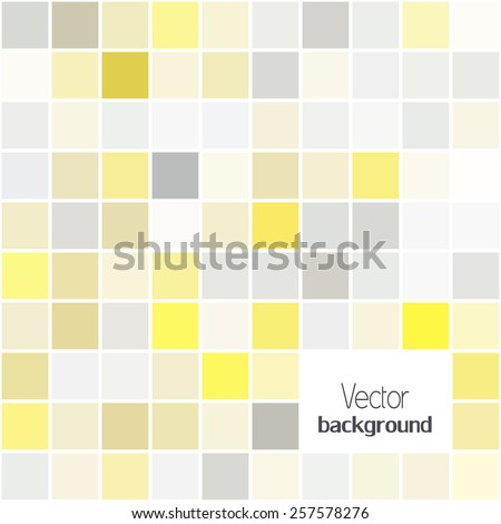 Abstract digital geometric modern grey and yellow color backgrounds.  Cover design template layout for corporate business card, book, booklet, brochure, poster, flyer. Vector - stock vector