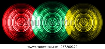 abstract digital sound wave pattern background. red green yellow Light Abstract Technology background for computer graphic website internet and business. circuit. vector - stock vector