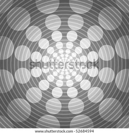 Abstract Digital Wave Background (No Transparencies ) - stock vector