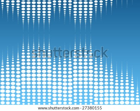 abstract dots background - stock vector