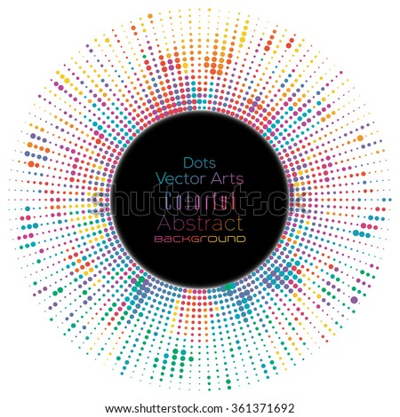 Abstract dotted lines colorful celebration background - stock vector