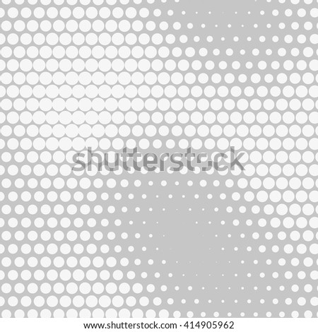 Abstract dotted vector background. Halftone effect