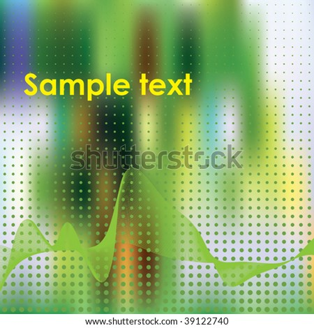 Abstract elegance background. Vector illustration. Gradient mesh include.