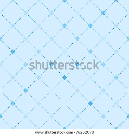 Abstract Elegance seamless floral pattern. EPS 8 vector file included - stock vector