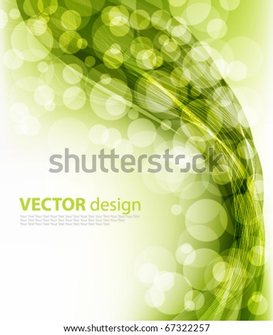 abstract elegant design - stock vector