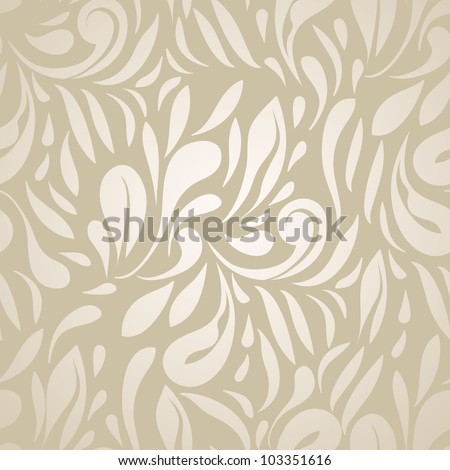 Abstract Elegant Seamless Pattern. Can be used as wallpaper. - stock vector