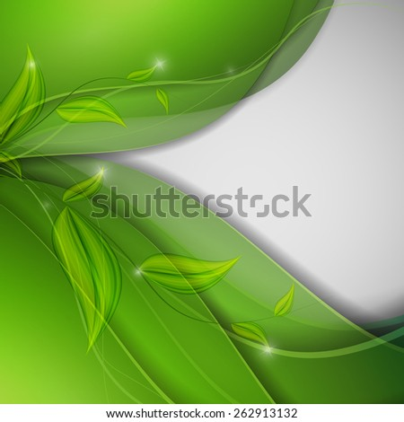 abstract environmental summer vector background . Eps10 - stock vector