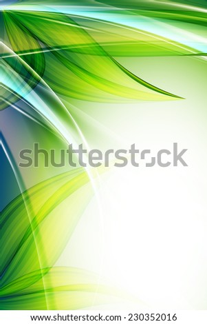 abstract environmental vector background with copy space. Eps10 - stock vector