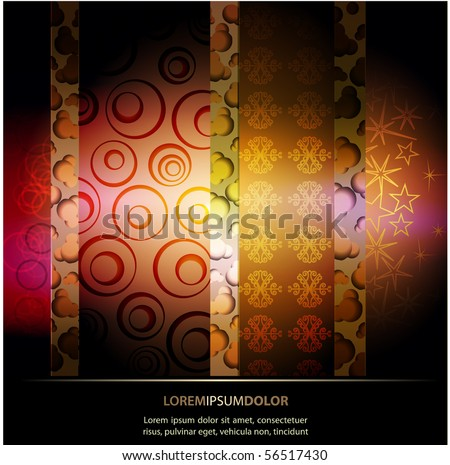 Abstract EPS10 Vector Bacground - stock vector