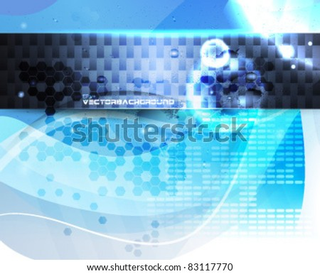 Abstract eps10 Vector Illustration - stock vector
