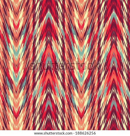 abstract ethnic seamless fabric pattern  - stock vector