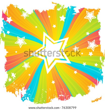 Abstract festive background. Clip-art - stock vector