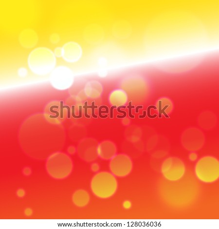 Abstract festive background - fantastic boke. EPS10 vector. - stock vector