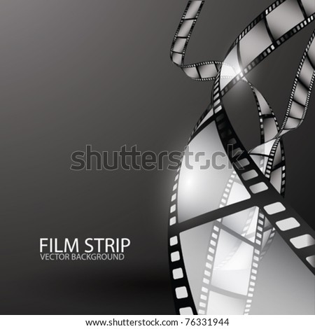 Abstract Film Strip - stock vector
