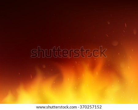 Abstract fire background. - stock vector