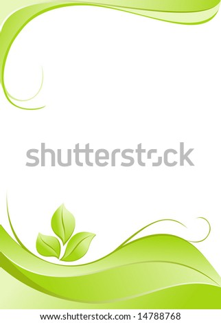 Abstract floral elegance background - stock vector