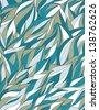 Abstract Fluid Ornament Vegetative Background. Abstract vector ornamental background. EPS8. - stock vector