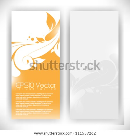abstract foliage background illustration. eps10 vector format - stock vector