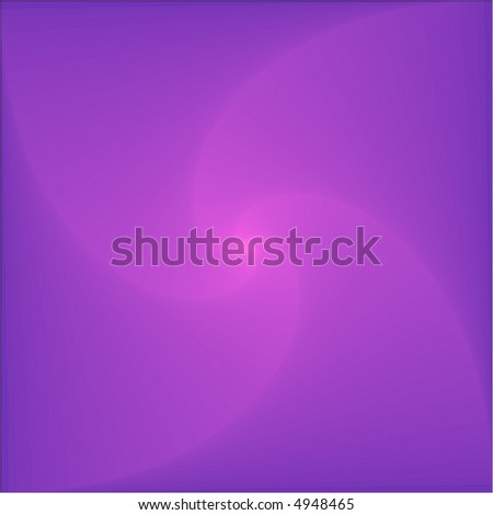 Abstract fractal image - pink spiral on the violet background - stock vector