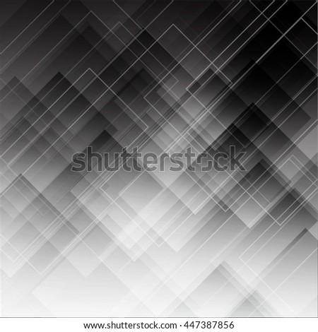 Abstract futuristic background. Grey rectangles. Element corporate and web design. Vector illustration.
