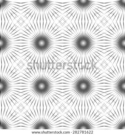 Abstract geometric art background. - stock vector