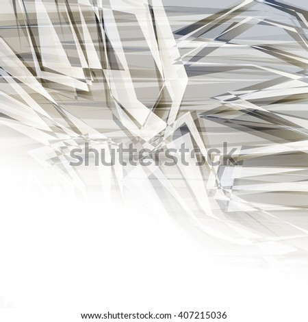 Abstract geometric background - stock vector