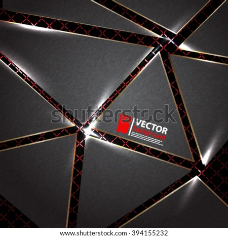 abstract geometric background eps10 - stock vector