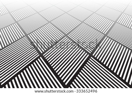 Abstract geometric background. Vector art. - stock vector