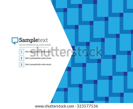 Abstract geometric background with polygons. Infographics Vector illustration for business presentation