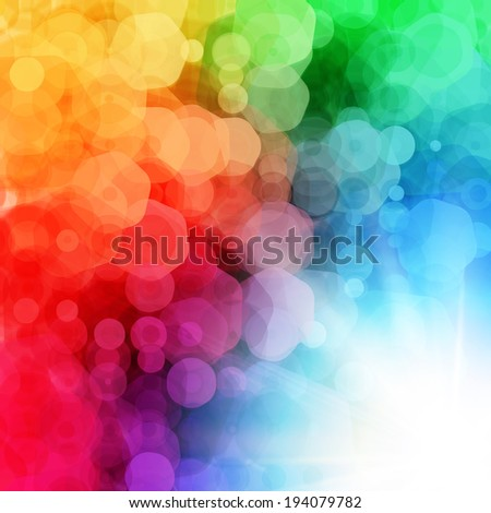 Abstract geometric background with sun burst. Vector illustration.  - stock vector