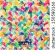 Abstract geometric colorful background.  - stock