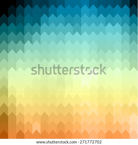 Abstract geometric colorful background - eps10 - stock vector
