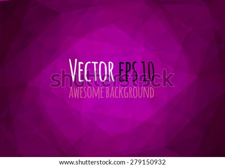 Abstract geometric colorful background. Vector illustration. - stock vector