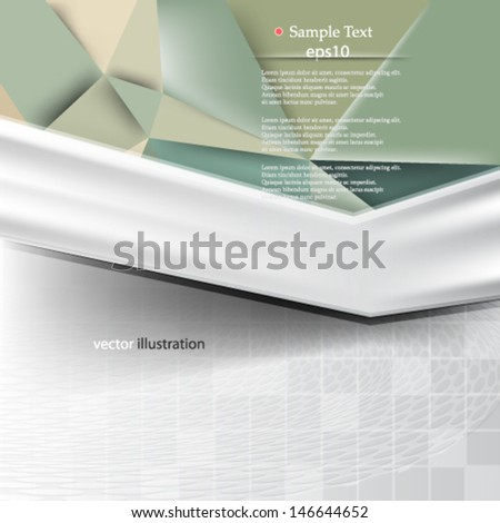 abstract geometric corporate background concept design - eps10
