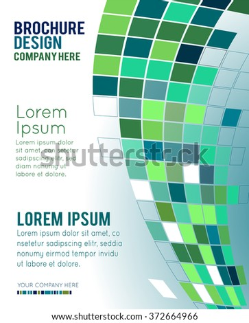 Abstract  geometric cubes background for your design. Vector illustration.