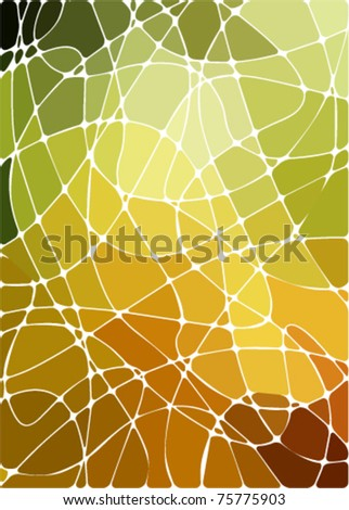 abstract geometric mosaic background - stock vector