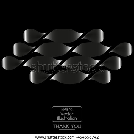 Abstract geometric pattern. - stock vector