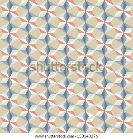 abstract geometric pattern background for design - stock vector