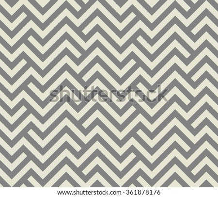 Abstract geometric pattern by stripes, lines. A seamless vector background. Gray  texture. - stock vector