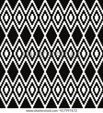 Abstract geometric pattern in art-deco style, vector wallpaper