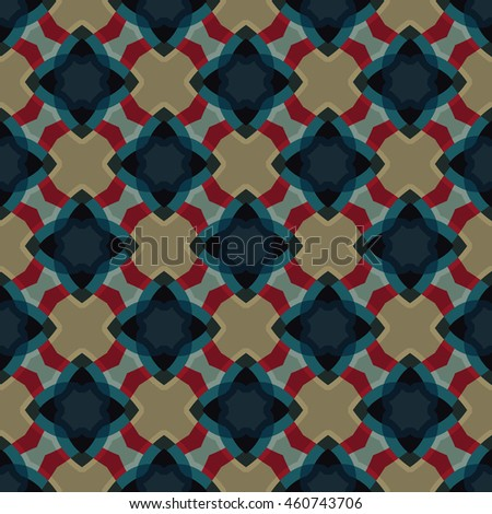 Abstract geometric pattern. Print, ?loth design, wallpaper. Vector illustration.