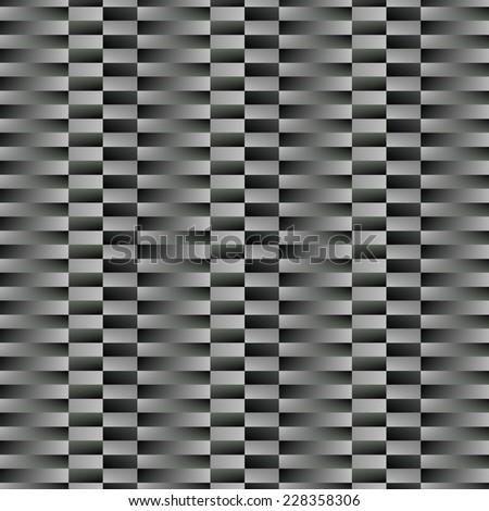 Abstract geometric pattern vector in dark gray. vector illustration - stock vector