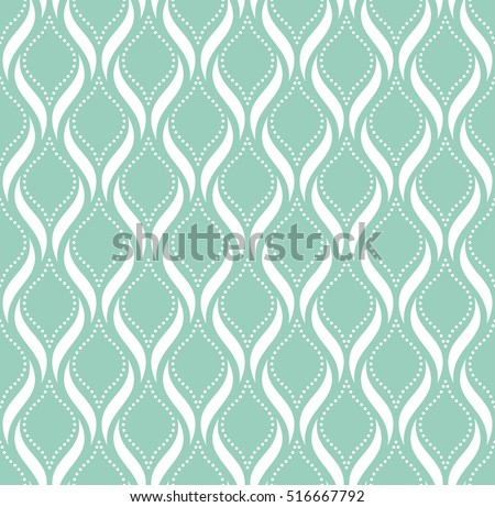 Abstract geometric pattern with points. A seamless vector background. Blue and white texture.